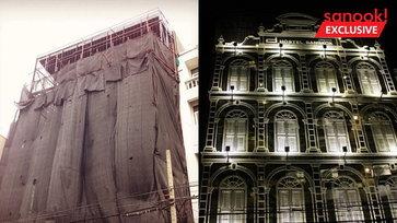 """""""D Hostel"""" จากตึกเก่าสู่โฮสเทลสุดเก๋ ใช้เทคนิคครอบหน้ากากอาคาร งานเหล็กสื่อความคลาสสิก"""
