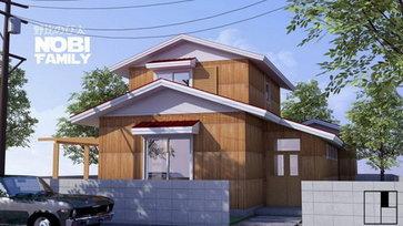 """พาไปชม """"แบบบ้านโนบิตะ"""" ถอดแบบจากการ์ตูน สู่แบบบ้านที่สามารถสร้างได้จริง"""