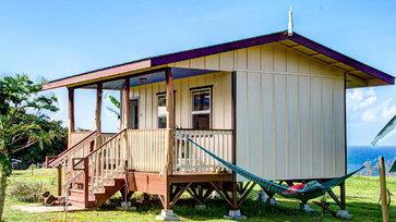 บ้านไม้ชั้นเดียวยกพื้นสูง เรียบง่ายกะทัดรัด บรรยากาศน่ารักอบอุ่น ภายในครบครันพร้อมใช้งาน