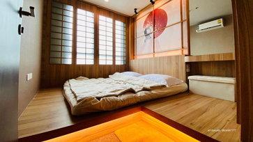 เปลี่ยนคอนโดส่วนตัวเป็นที่พักแบบเรียวกัง ผสานกลิ่นอายญี่ปุ่นดั้งเดิม
