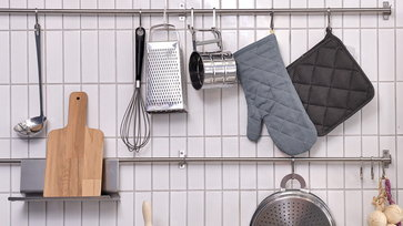 10 ไอเดียเก็บของในครัว กินพื้นที่น้อย ประโยชน์เยอะ