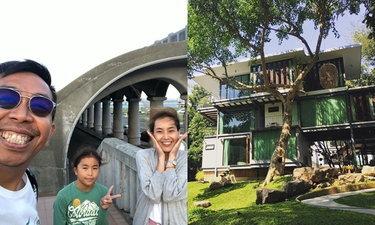 """""""Villa Moreeda"""" บ้านหลังที่สองของครอบครัวเสนาลิง ที่สวนผึ้ง"""