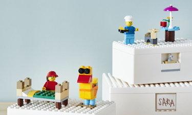 """IKEA x Lego เปิดคอลเล็คชั่นพิเศษ """"BYGGLEK"""" กล่องเก็บของที่เล่นสนุกได้!"""