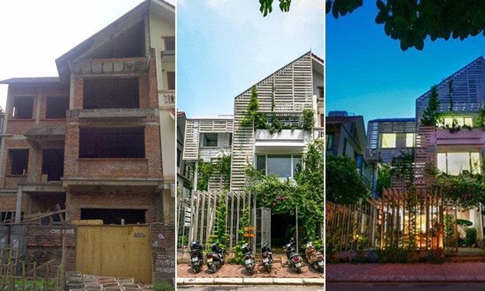 ไอเดียการรีโนเวทบ้านร้าง กลายร่างเป็นออฟฟิศกลางสวนธรรมชาติ