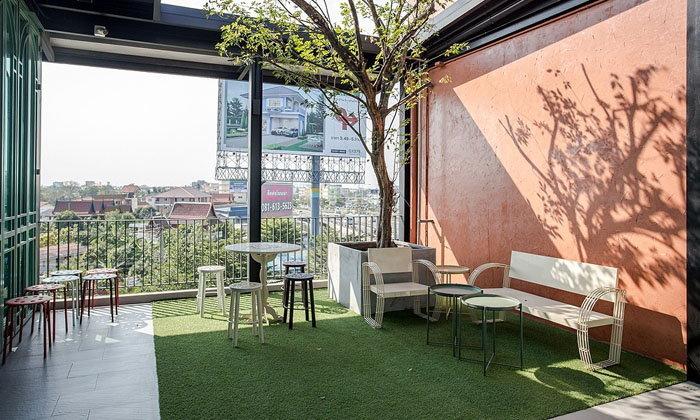 จัดสวนอย่างมีสไตล์ เพิ่มพื้นที่สีเขียวในอาคาร