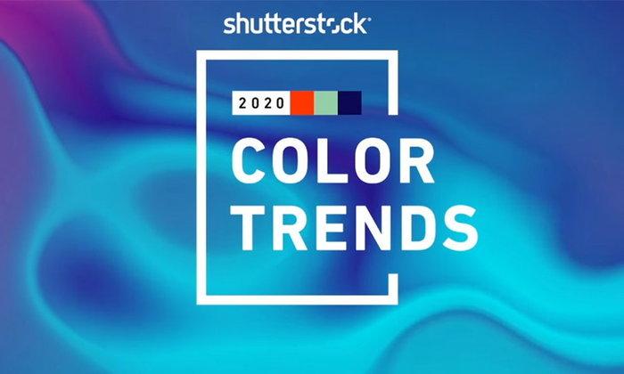 """""""Shutterstock"""" ประกาศเทรนด์สีปี 2020  3 สีมาแรงๆ"""