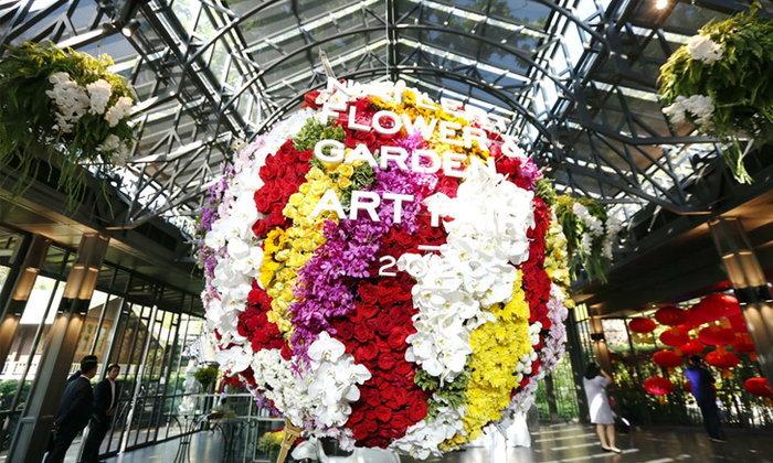 """เตรียมสัมผัสความอลังการเทศกาล """"Nai Lert Flower  and  Garden Art Fair 2020"""" ปลายเดือนมกราคมนี้"""