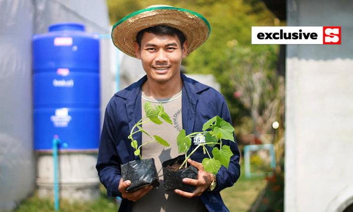 เกษตรกรต้นแบบแนะ ปลูกผักให้มีกินทั้งปี ด้วยเทคนิคหลอกแมลง ปล่อยระบบนิเวศจัดการกันเอง