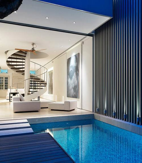 Minimalist Exterior Home Design Ideas: ไอเดียสระว่ายน้ำสวยในพื้นที่จำกัด