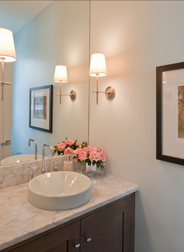 Powder Room. Small Powder Room Desgn. Great small powder room ideas.