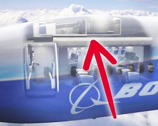 ห้องพักบนเครื่องโบอิ้ง 773 ของอเมริกันแอร์ไลน์
