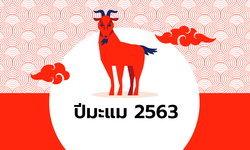 ดูดวงจีน 12 นักษัตร ปี 2563 (ปีมะแม)