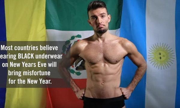 เฮงรับปี 2016 ด้วยสี Underwear ตามความเชื่อในแต่ละประเทศ