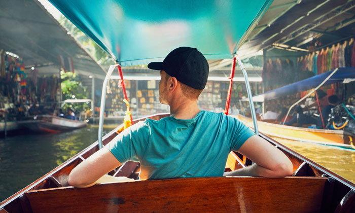 ทำนายฝัน ฝันเห็น นั่งเรือ ฝันว่า นั่งเรือ