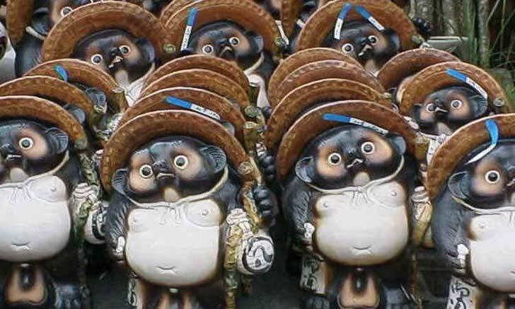 สองสัตว์ในตำนานที่คนญี่ปุ่นใช้เป็นสัญลักษณ์แห่งโชคลาภและช่วยป้องกันภัย