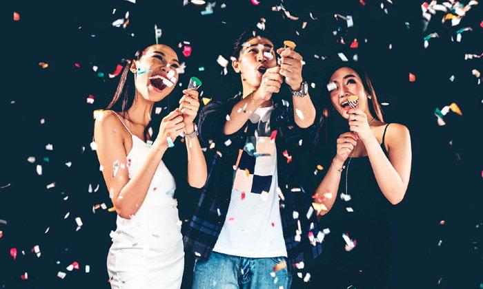 ปาร์ตี้ปีใหม่ทำนายความรัก