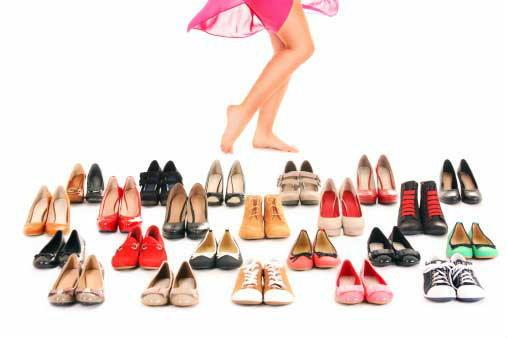 การเลือกรองเท้าให้ถูกโฉลกกับราศี