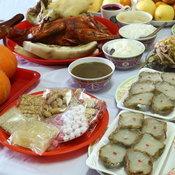 อาหารสำหรับไหว้ตรุษจีน
