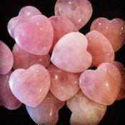 หินโรสควอตซ์ (Rose Quartz)