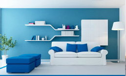 การเลือกสีแต่งบ้านช่วยเสริมดวงให้คุณได้
