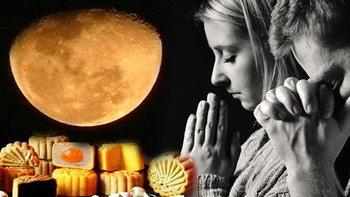 """15 ก.ย.59 """"วันไหว้พระจันทร์"""" ขอพรความรัก โชคลาภจะสมหวัง"""