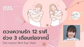 ดวงความรัก 12 ราศี ช่วง 3 เดือนต่อจากนี้ โดย หมอนก Bird Eye View