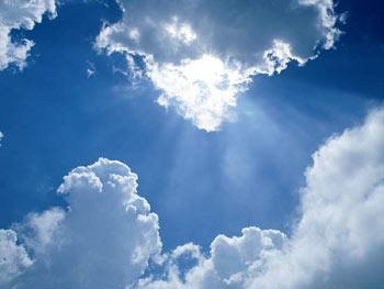 ท้องฟ้าแจ่มใส, ฟ้าโปร่ง, ลางดี