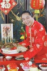 อาจารย์วิศิษฏ์ เตชะเกษม, วันตรุษจีน, ของไหว้ตรุษจีน