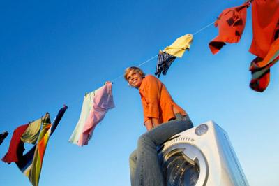 ทายนิสัย, ซักผ้า