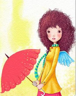 กางร่ม