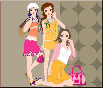 สดใส, เลือกเสื้อผ้า, สีเสื้อผ้า