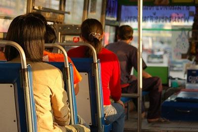 นั่งรถเมล์