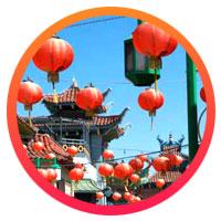 สถานที่มงคล 8 แห่ง รับเทศกาลตรุษจีน 2557