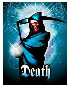 ไพ่ Deathไพ่ Death