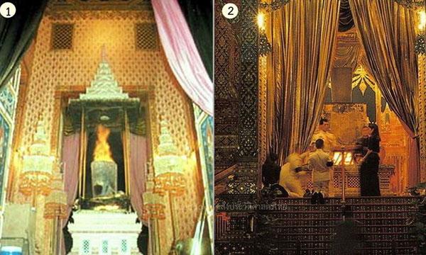 """""""รูปแบบและธรรมเนียม"""" ในการพระราชทานเพลิงพระศพ"""