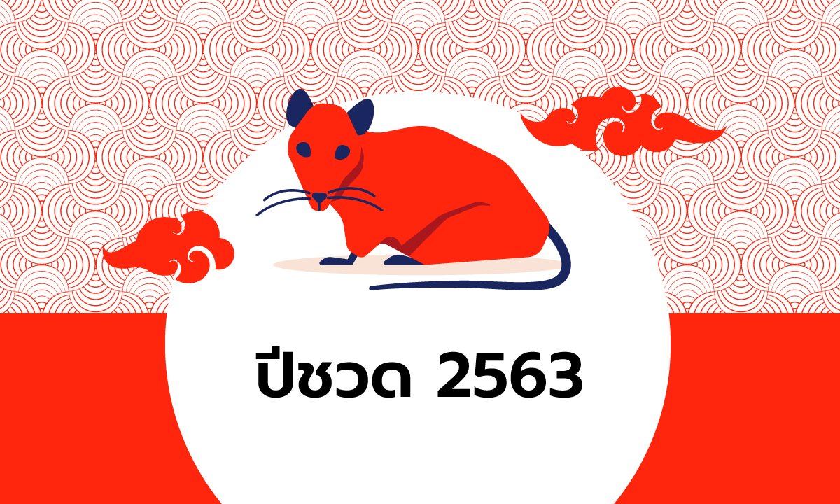ดูดวงจีน 12 นักษัตร ปี 2563 (ปีชวด)