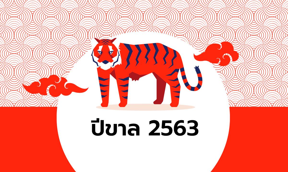 ดูดวงจีน 12 นักษัตร ปี 2563 (ปีขาล)