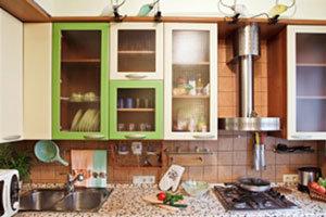 การจัดห้องครัวหลักเบญจธาตุ