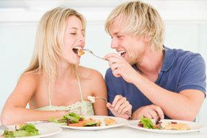 แบบทดสอบความรักจากความหิว