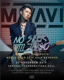 "MIYAVI ""NO SLEEP TILL TOKYO"" World Tour 2019 ASIA Bangkok"