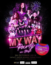 My Way Party on Stage