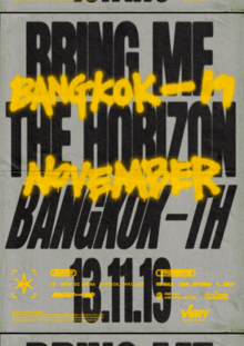 BRING ME THE HORIZON LIVE IN BANGKOK 2019