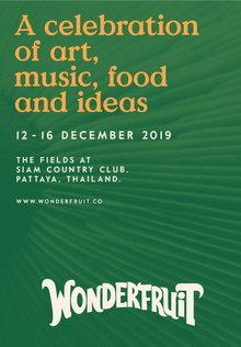 Wonderfruit 2019