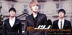 ยอดจองบัตรพรีเซล JYJ World Tour In Thailand เต็มภายใน 10 นาที !!