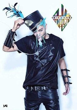 ท็อป (TOP) แปลงโฉมหนุ่มผมฟ้า ในทีเซอร์อัลบั้มใหม่ BIGBANG