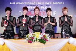 5 หนุ่ม เอ็มแบล็ค (MBLAQ) พบสื่อไทย แถลงเปิดตัวเอเชียทัวร์ในไทย