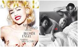 หยุดไม่อยู่! ไมลีย์ ไซรัส เปลือยอกขึ้นปก Vogue เยอรมัน