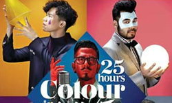 25 HOURS COLOUR IN LIVE