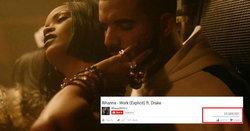"Rihanna แรงเวอร์ ""Work"" ยอดวิว 3 วัน พุ่งทะลุ 22 ล้าน!!"