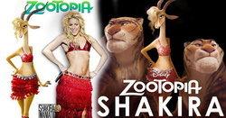 ชาคีร่า (shakira) ฟิน! ทั้งร้องเพลง-พากย์เสียง Zootopia